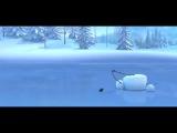 Мультфильм про снеговика
